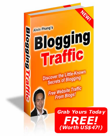 Blogging Traffic by Alvin Phang